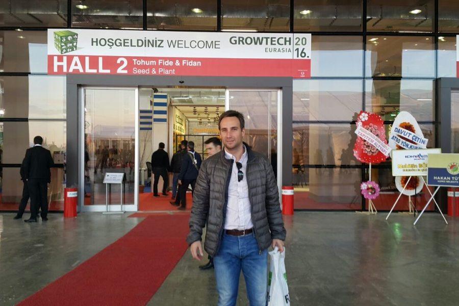 Visita a Growtech Eurasia 2016